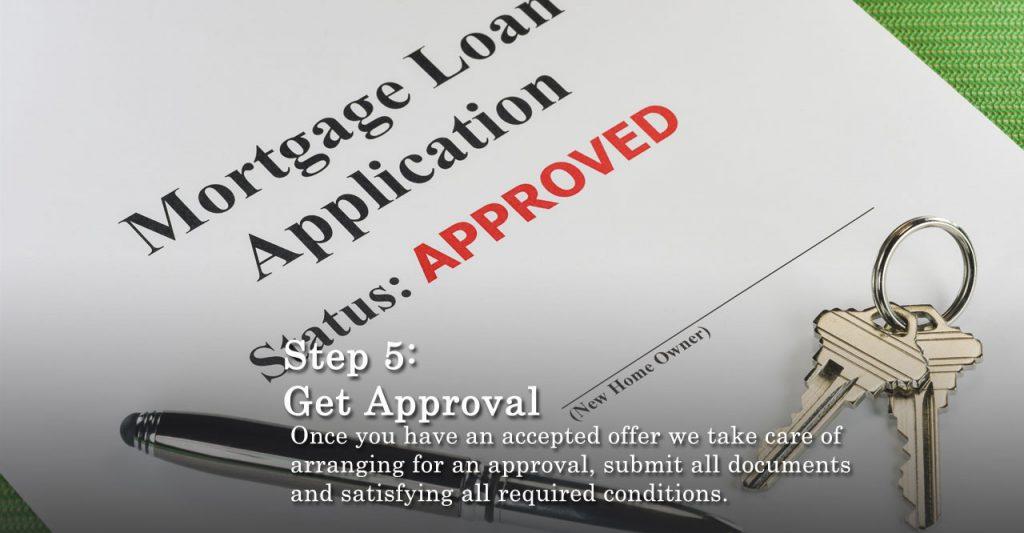 Step 5 Arrange Approval